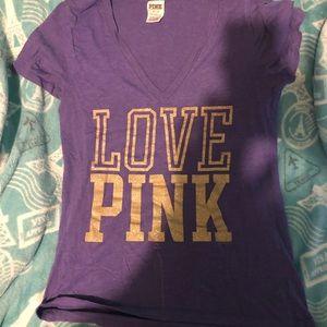 pink, vs shirt